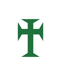 Flag: Portugueseguineacompanyflag |  landscape flag | 1.35m² | 14.5sqft | 90x150cm | 3x5ft