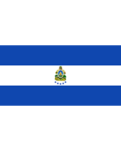 Drapeau: Naval Ensign of Honduras |  drapeau paysage | 2.16m² | 100x200cm