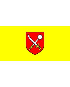 Flag: Municipality of Čavle |  landscape flag | 1.35m² | 14.5sqft | 80x160cm | 30x60inch