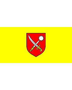 Flag: Municipality of Čavle |  landscape flag | 2.16m² | 23sqft | 100x200cm | 40x80inch