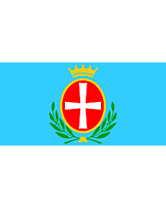 Flag: Municipality of Bale |  landscape flag | 1.35m² | 14.5sqft | 80x160cm | 30x60inch