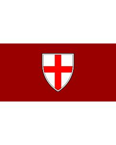 Flag: City of Buje |  landscape flag | 1.35m² | 14.5sqft | 80x160cm | 30x60inch
