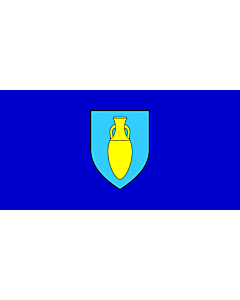 Flag: Municipality of Fažana |  landscape flag | 1.35m² | 14.5sqft | 80x160cm | 30x60inch