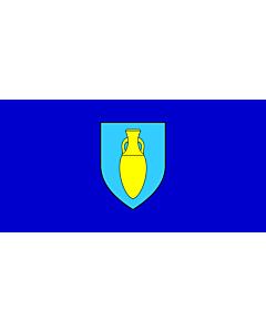 Flag: Municipality of Fažana |  landscape flag | 2.16m² | 23sqft | 100x200cm | 40x80inch
