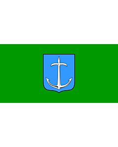 Flag: Municipality of Klana |  landscape flag | 1.35m² | 14.5sqft | 80x160cm | 30x60inch