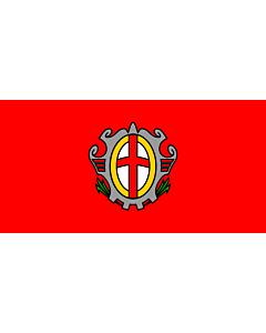 Flag: City of Labin |  landscape flag | 1.35m² | 14.5sqft | 80x160cm | 30x60inch