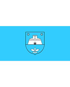 Flag: Municipality of Pićan |  landscape flag | 1.35m² | 14.5sqft | 80x160cm | 30x60inch