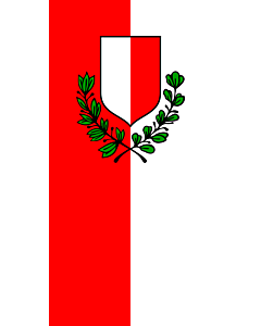 Flag: City of Poreč |  portrait flag | 1.35m² | 14.5sqft | 90x150cm | 3x5ft