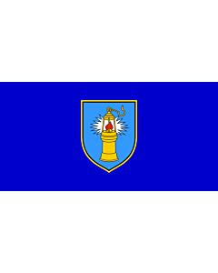 Flag: Municipality of Raša |  landscape flag | 1.35m² | 14.5sqft | 80x160cm | 30x60inch
