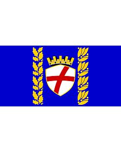 Flag: City of Rovinj |  landscape flag | 2.16m² | 23sqft | 100x200cm | 40x80inch