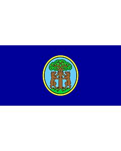 Flag: Municipality of Vrsar |  landscape flag | 1.35m² | 14.5sqft | 80x160cm | 30x60inch