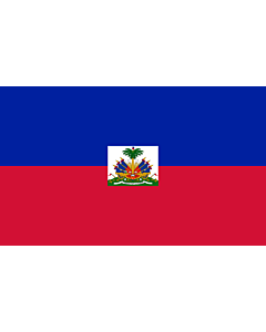 Bandera de Interior para protocolo: Haití 90x150cm