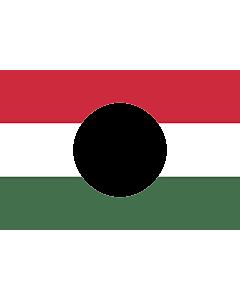 Flag: Hungarian Revolution of 1956 |  landscape flag | 2.16m² | 23sqft | 120x180cm | 4x6ft