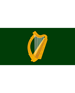 Flag: Leinster |  landscape flag | 6.7m² | 72sqft | 180x360cm | 70x140inch