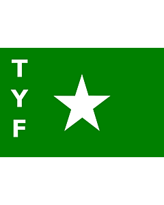 Drapeau: TYF |  drapeau paysage | 1.35m² | 90x150cm