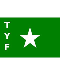 Drapeau: TYF |  drapeau paysage | 2.16m² | 120x180cm
