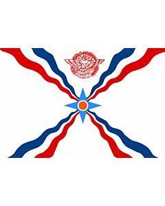 Flagge: Large OfAssyria  |  Querformat Fahne | 1.35m² | 90x150cm