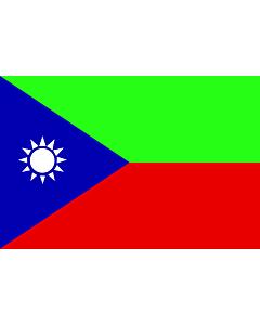 Flag: Balutxistan Iranià |  landscape flag | 1.35m² | 14.5sqft | 90x150cm | 3x5ft