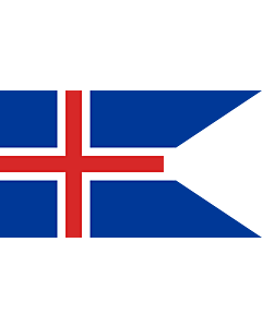 Flag: Iceland |  landscape flag | 0.135m² | 1.5sqft | 30x45cm | 1x1.5foot