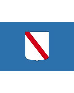 Flag: Campania |  landscape flag | 0.24m² | 2.5sqft | 40x60cm | 1.3x2foot
