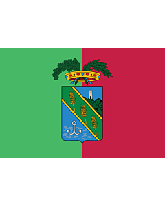 Flag: Province of Latina |  landscape flag | 0.24m² | 2.5sqft | 40x60cm | 1.3x2foot