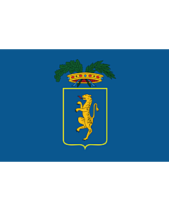 Flag: Province of Lucca |  landscape flag | 0.24m² | 2.5sqft | 40x60cm | 1.3x2foot