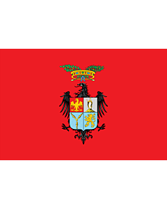 Flag: Province of Palermo |  landscape flag | 0.24m² | 2.5sqft | 40x60cm | 1.3x2foot