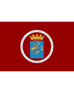 Flag: Province of Reggio Calabria |  landscape flag | 0.24m² | 2.5sqft | 40x60cm | 1.3x2foot
