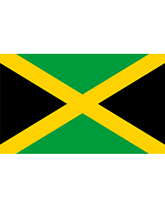 Indoor-Flag: Jamaica 90x150cm