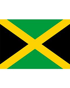 Drapeau: Jamaïque |  drapeau paysage | 0.7m² | 70x100cm