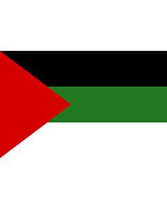 Bandera: Arab revolution | Arab revolt of 1917  Hashemites |  bandera paisaje | 0.06m² | 20x30cm