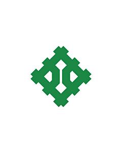 Flag: Fukui Prefecture |  landscape flag | 0.24m² | 2.5sqft | 40x55cm | 17x20inch
