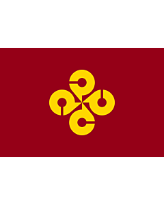 Flag: Shimane |  landscape flag | 0.24m² | 2.5sqft | 40x60cm | 1.3x2foot