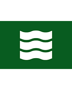 Flag: Hiroshima Prefecture |  landscape flag | 0.24m² | 2.5sqft | 40x60cm | 1.3x2foot