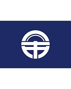 Flag: Tokushima Prefecture |  landscape flag | 0.24m² | 2.5sqft | 40x60cm | 1.3x2foot