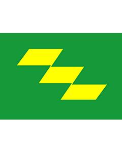Flag: Miyazaki Prefecture |  landscape flag | 0.24m² | 2.5sqft | 40x60cm | 1.3x2foot