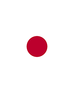Flag: Japan |  portrait flag | 6m² | 64sqft | 400x150cm | 13x5ft