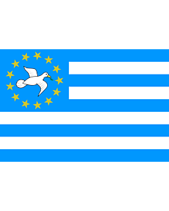 Flagge: Large Federal Republic of Southern Cameroons | 南カメルーン連邦共和国の旗  |  Querformat Fahne | 1.35m² | 90x150cm