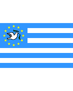 Flagge: Large Southern Cameroons | Southern Cameroons design is based on  but not taken from  https //www  |  Querformat Fahne | 1.35m² | 90x150cm