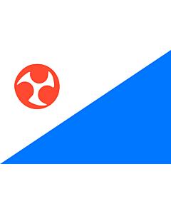 Drapeau: Jejudo | Jeju Special Self-governing Province | Jeju Teukbyeol Jachido | 済州特別自治道旗 | 제주특별자치도기 | 济州特别自治道旗 | 濟州特別自治道旗 |  drapeau paysage | 2.16m² | 120x180cm