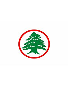 Flag: Lebanese Armed Forces |  landscape flag | 1.35m² | 14.5sqft | 90x150cm | 3x5ft