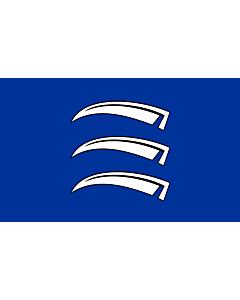 Bandera: Triesen |  bandera paisaje | 0.24m² | 40x60cm