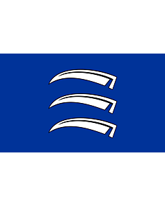 Bandera: Triesen |  bandera paisaje | 3.75m² | 150x250cm