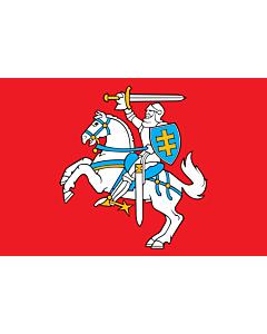 Drapeau: Lituanie |  drapeau paysage | 3.375m² | 150x225cm