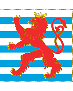 Flag: Army Colours of Luxembourg Obverse |  1.35m² | 14.5sqft | 120x120cm | 45x45inch