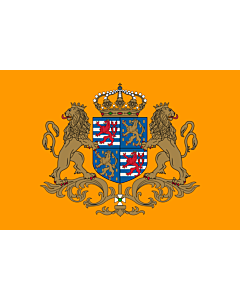 Flag: Standard of the Grand Duke of Luxembourg |  landscape flag | 0.06m² | 0.65sqft | 20x30cm | 8x12in