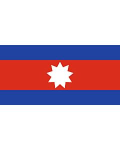 Flagge:  Wa | Cambodia  |  Querformat Fahne | 0.06m² | 17x34cm