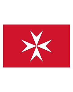 Flag: Malta |  landscape flag | 0.24m² | 2.5sqft | 40x60cm | 1.3x2foot