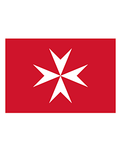 Flag: Malta |  landscape flag | 0.7m² | 7.5sqft | 70x100cm | 2x3ft