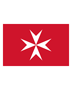 Flag: Malta |  landscape flag | 0.96m² | 10sqft | 80x120cm | 2.5x4ft
